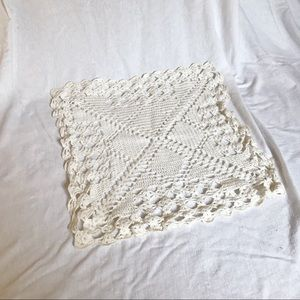 Other - Cream Square Lace Doily